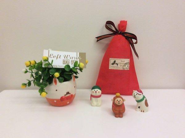[日本雜貨] 聖誕禮物 交換禮物 大推薦  療癒 三毛貓 柑橘小猴 小雪人