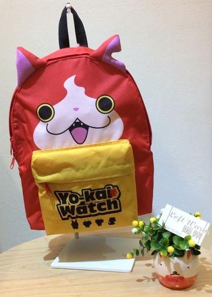 [日系包款] 小朋友的人氣明星 吉胖喵又來囉!! 妖怪手錶 吉胖喵造型後背包!!登場