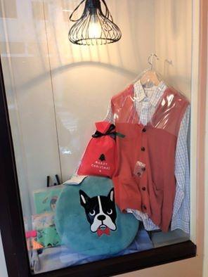[日本雜貨] # 法鬥犬暖暖抱枕 #