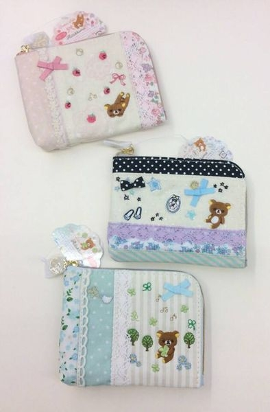 [日系包款] 拉拉熊& 童話故事風  錢包 / 卡片收納包