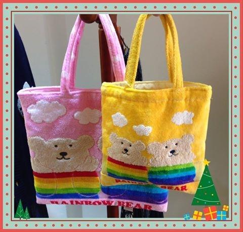[日系包款] # 彩虹熊 手提袋 #