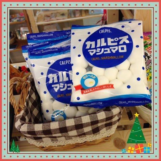 [日本零食] # 可爾必思 棉花糖 #