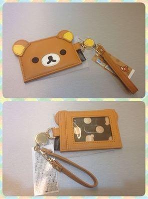 [日本雜貨] # 拉拉熊皮革證件套 #