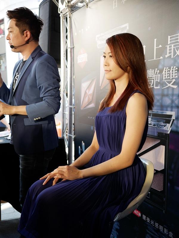 FG美妝大賞活動初體驗~有機會被李明川老師用KATE的新品畫彩妝好開心唷!
