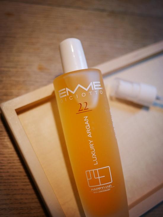 【EMME22號奢華金采輕質油】個人目前最推薦的護髮油就它了!