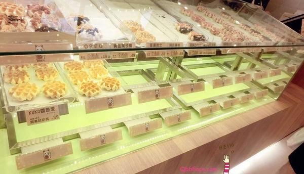 CHING Oni ♥美食 KUKO比利時鬆餅 漢神巨蛋新開幕店
