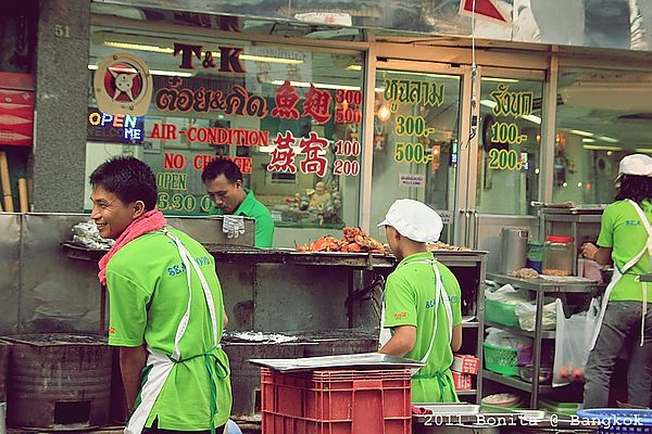 [曼谷]昭披耶河遊船˙5號碼頭-中國城吃T&K SEAFOOD