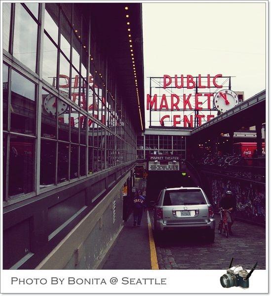 Seattle!! Pike Place Market傳說中的第一家星巴克