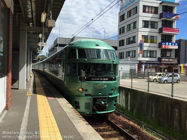 [日本˙九州]特色火車~由布院之森/ゆふいんの森:久留米-湯布院-博多(鐵路便當/B Speak)搭乘紀錄