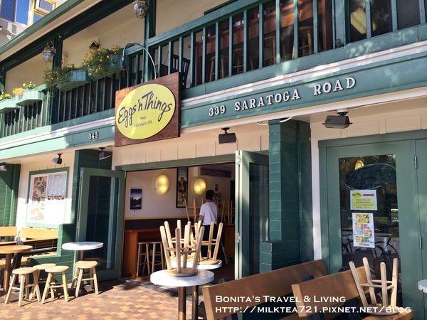 [美國˙夏威夷]日本大熱門排隊名店夏威夷風鬆餅Eggs'n Things歐胡島威基基Saratoga Flagship旗艦店