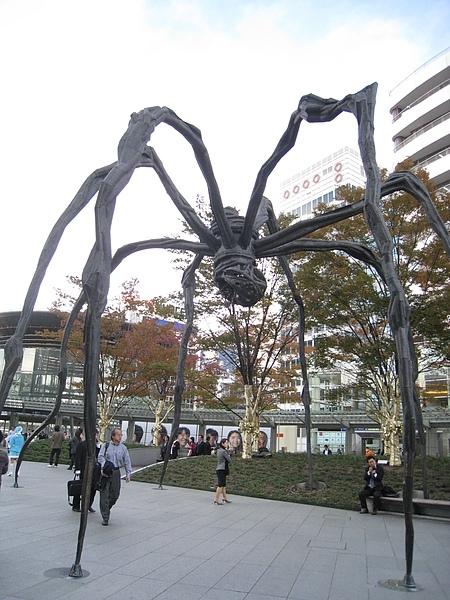 【東京自由行】2008秋Day11-六本木大蜘蛛Maman&朝日電視台