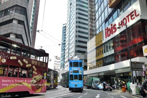 [香港]叮叮車搭到飽的香港住宿推薦中上環宜必思酒店IBIS Hotel