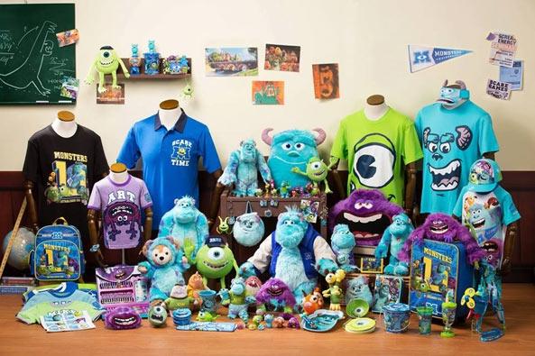 [香港]2013怪獸大學新品和其他可愛迪士尼商品代購連線活動7/9-11(已結束)