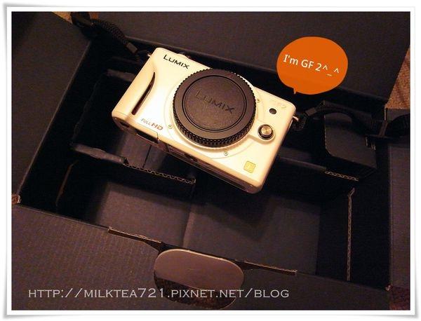 Panasonic GF2 白女友簡單開箱