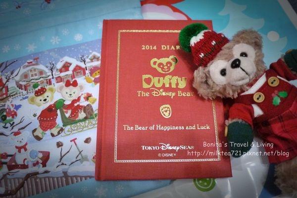 [文具]日本迪士尼海洋限定販售˙將陪伴我度過2014年的Duffy手帳本