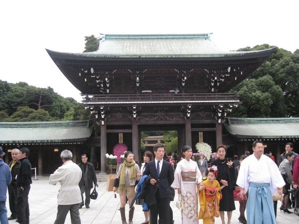 【東京】2008秋Day 6-明治神宮的七五三節