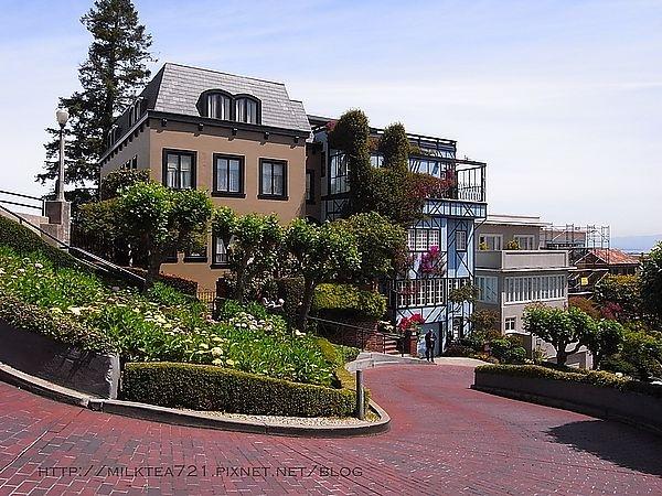 [舊金山]必去小行程分享九曲花街Lombard St.+六姊妹Six Sisters