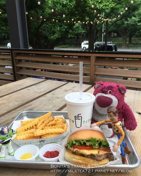 [日本˙東京]紐約人氣漢堡日本上陸1號店Shake Shack明治神宮外苑前