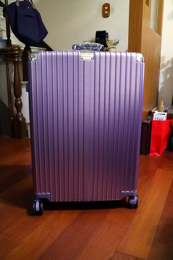 生活好物分享┃SOLLEN┃鋁框行李箱 / PC+ABS材質 / 29吋女神紫簡易開箱