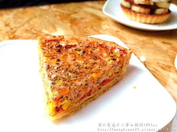食記►台北中正┃華山那間18plus┃純手工鹹(甜)派,感動美味!(試吃)