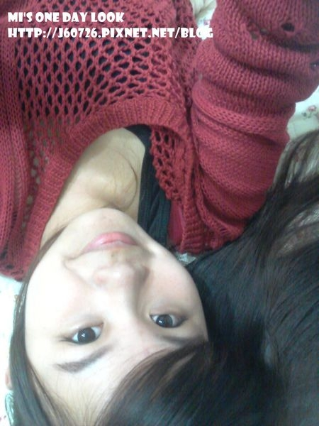 【MY 1 DAY LOOK】洞洞毛衣+小紗裙♥丹堤咖啡蛋糕套餐
