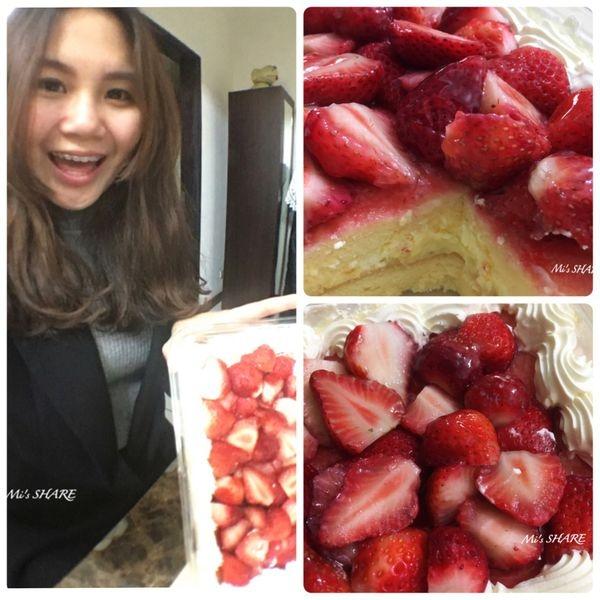 【好市多/食品】COSTCO/新鮮草莓千層蛋糕(季節限定)★大份量甜點