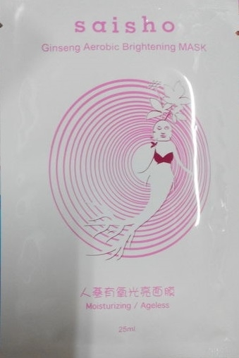 [saisho]人蔘有氧光亮面膜