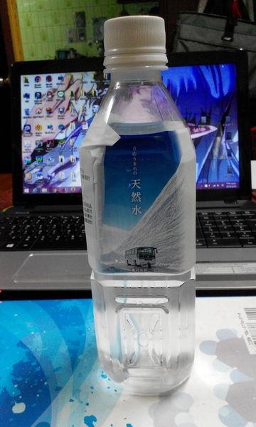 喝得到純淨天然♥立山うまれの天然水