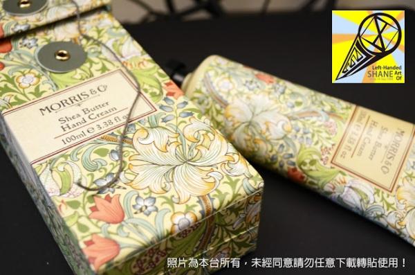 不專業開箱文 禮物篇之 Morris & Co. Shea Butter Hand Cream 100ml 乳木果油乳油木果 護手霜適合文青與地球人使用