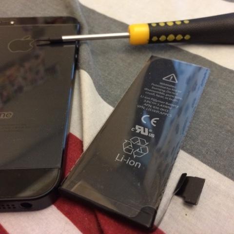 放假就是要換iPhone5電池 不然要幹嘛 省錢DIY初體驗