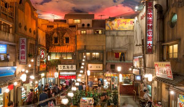 【新橫濱拉麵博物館】可是我覺得不好玩也不好吃Q_Q