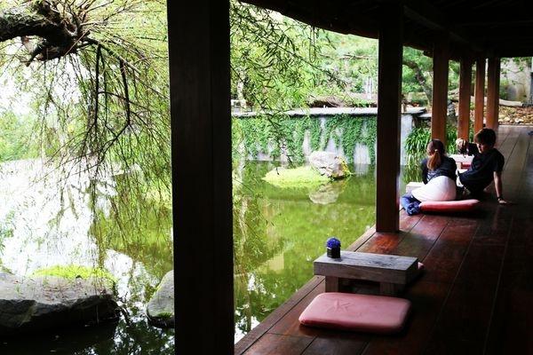 台中新社 ~又見一炊煙~日式禪風的景觀餐廳