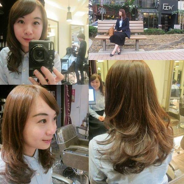 【台北中山髮廊推薦】Fin Hair Salon:擺脫布丁頭,好評微甜新髮色!!