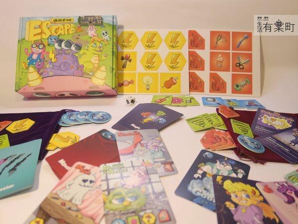 【桌遊PLAY吧】逃跑吧 怪獸!ESCAPE:超童趣美漫風格,魔法公會PK抓怪獸;觸摸系派對遊戲,聯誼破冰狂歡良Game