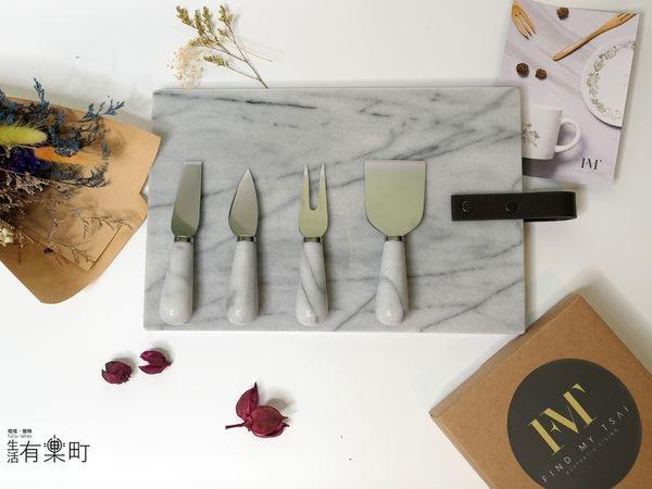 【好物開箱】FMT我的菜:美感家居用品推薦,大理石起司甜點擺飾盤,唯美刀叉四件組,為餐桌風景增添一絲浪漫吧~