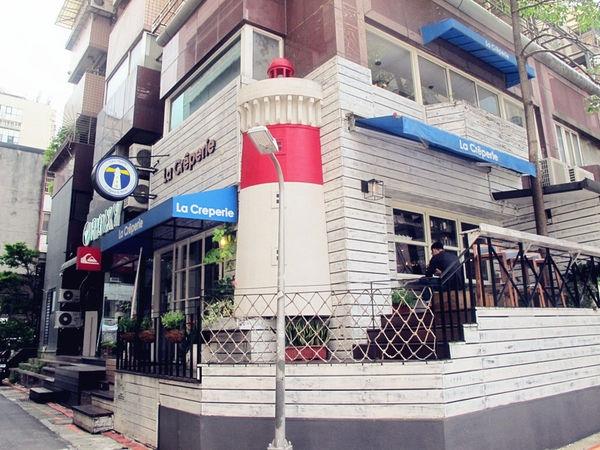 【台北大安】La creperie Taipei:來自法國,道地美味薄餅!