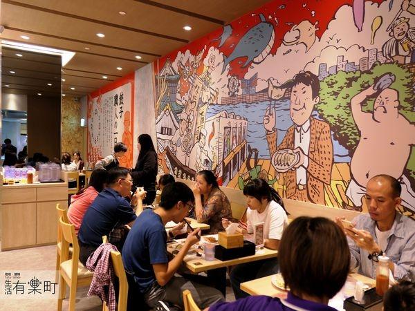 【桃園蘆竹美食】大阪王將:新開幕!日本知名燒餃子,萬眾期待進駐台茂購物中心,是否可以吃到和日本一樣的美味呢?