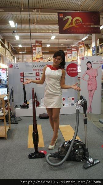 無線好吸力LG CordZero無線吸塵器體驗活動心得分享