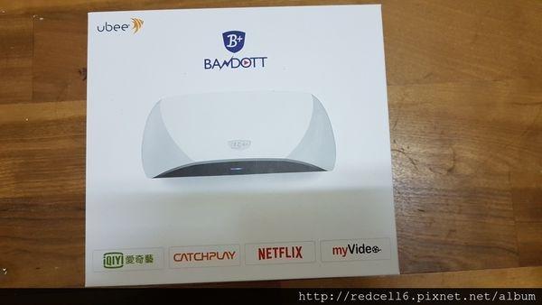 鴻海豪華影音「便當」富連網BANDOTT 4K智慧電視盒開箱體驗心得分享