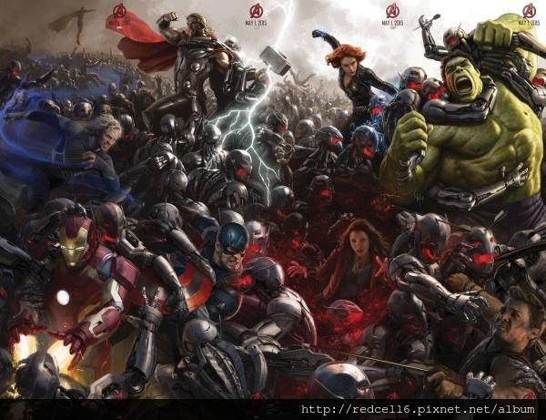 《復仇者聯盟:奧創紀元》(The Avengers : Age of Ultron)首支預告片上場了!