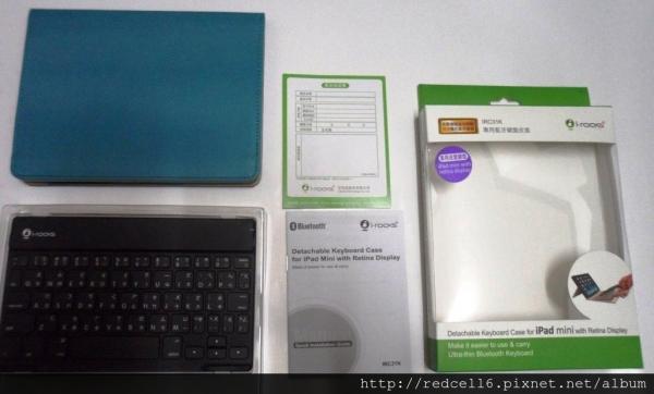 迷你小巧i-rocks IRC31K iPad Mini藍牙無線鍵盤皮套升級體驗心得報告