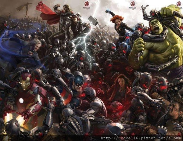 復仇者聯盟2奧創紀元(Avengers: Age of Ultron)觀影心得分享