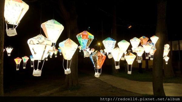 熱氣球彩繪體驗之夜in台東鐵花村