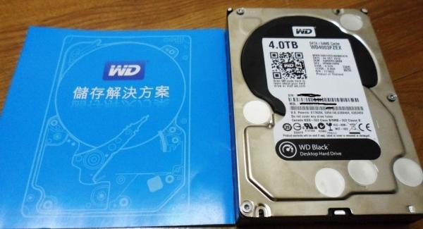 大容量高效能兼顧的WD 4TB黑標硬碟(4003FZEX)開箱心得
