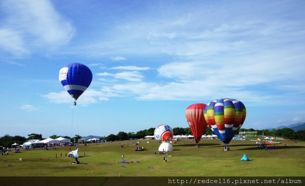 即將到來的台東2014 Taiwan國際熱氣球嘉年華的一些建議分享