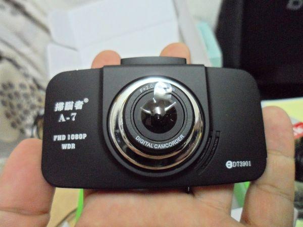 高畫質好操作的掃瞄者A-7 1080P高階行車紀錄器試用心得