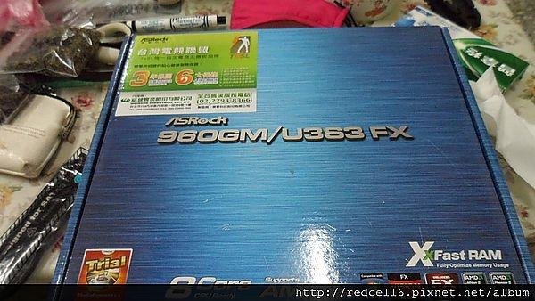 價格親民功能多多ASRock 華擎科技960GM/U3S3 FX 主機板開箱心得