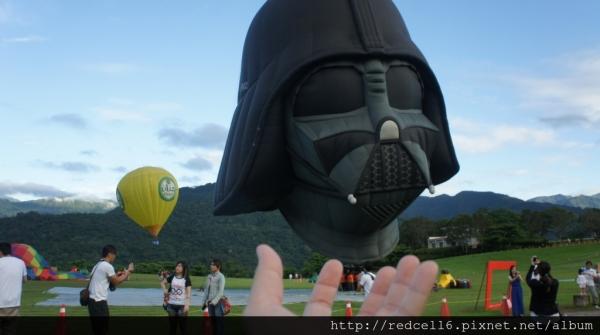 台東鹿野高台熱氣球嘉年華之追球記實