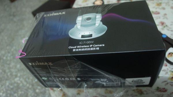 屬於自己的雲端守護神Edimax訊舟 IC-7100W 雲端無線網路攝影機開箱心得有感