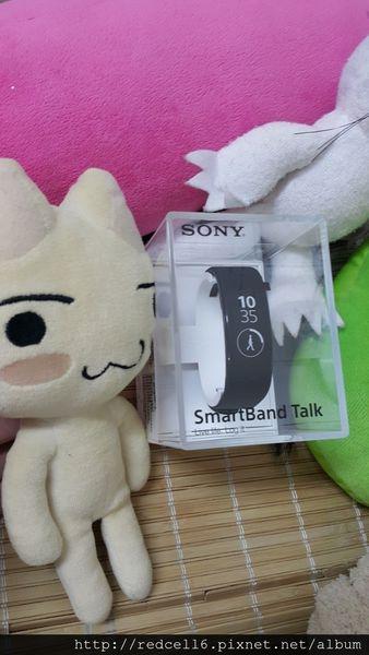 數位紀錄好幫手第二代SONY Smartband Talk SWR30智慧手環體驗心得